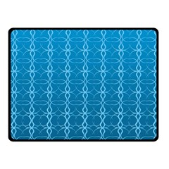 Circle Chic Blue Fleece Blanket (small)