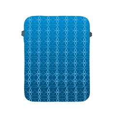 Circle Chic Blue Apple Ipad 2/3/4 Protective Soft Cases