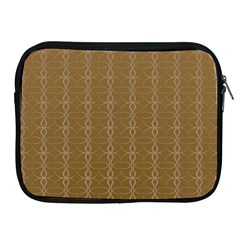 Circle Chic Brown Apple Ipad 2/3/4 Zipper Cases