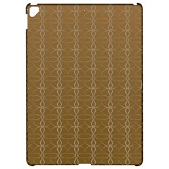 Circle Chic Brown Apple Ipad Pro 12 9   Hardshell Case