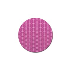 Circle Chic Pink Golf Ball Marker (10 Pack) by TimelessDesigns