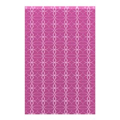 Circle Chic Pink Shower Curtain 48  X 72  (small)