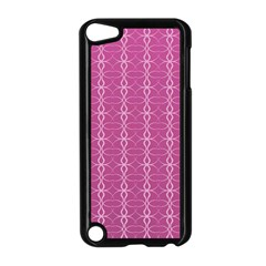 Circle Chic Pink Apple Ipod Touch 5 Case (black) by TimelessDesigns