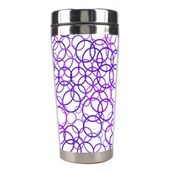 Surounded By Circles Stainless Steel Travel Tumblers