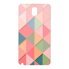 2 Triangles Make A Square Samsung Galaxy Note 3 N9005 Hardshell Back Case by FEMCreations