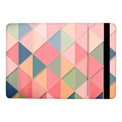 2 Triangles Make A Square Samsung Galaxy Tab Pro 10 1  Flip Case by TimelessDesigns