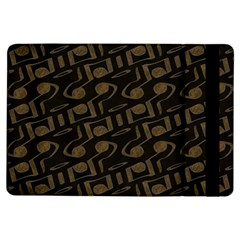 Abstract In Black And Gold Ipad Air Flip
