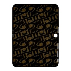 Abstract In Black And Gold Samsung Galaxy Tab 4 (10 1 ) Hardshell Case