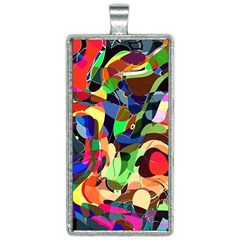 Artistic Chaos Rectangle Necklace by TimelessFashion