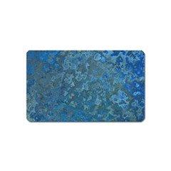 Beautifull Blue Magnet (name Card)