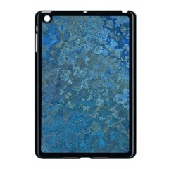 Beautifull Blue Apple Ipad Mini Case (black)