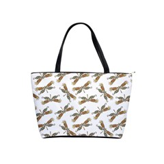 Beautifull Dragonfly Classic Shoulder Handbag by FEMCreations