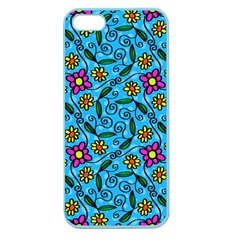 Beautyfull Flowers Apple Seamless Iphone 5 Case (color)