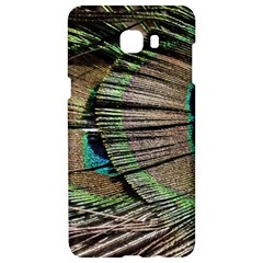 Peacock Feather Samsung C9 Pro Hardshell Case
