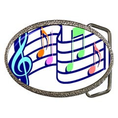Music Notes Belt Buckles by StarvinArtisan