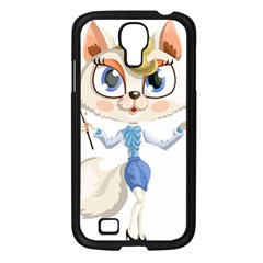 Cat Lady Samsung Galaxy S4 I9500/ I9505 Case (black) by StarvinArtisan