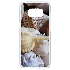 Sea Shells Beach Shells Samsung Galaxy S8 White Seamless Case by StarvinArtisan
