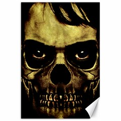 Angry Skull Monster Poster Canvas 20  X 30  by dflcprints