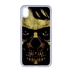 Angry Skull Monster Poster Apple Iphone Xr Seamless Case (white) by dflcprints