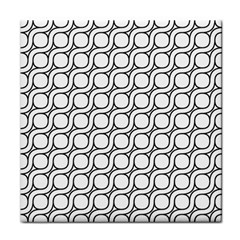 Between Circles Tile Coasters