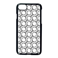 Between Circles Apple Iphone 7 Seamless Case (black)