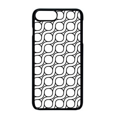 Between Circles Apple Iphone 8 Plus Seamless Case (black)