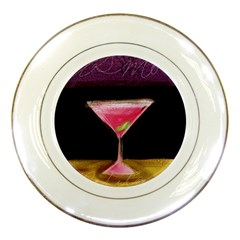 Cosmo Beverage Porcelain Plates by StarvinArtisan