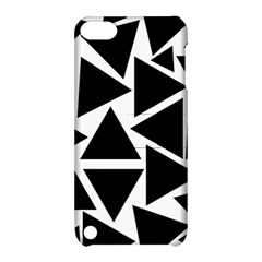 Black Triangles Apple Ipod Touch 5 Hardshell Case With Stand by TimelessDesigns