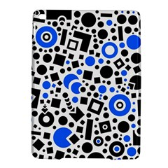Black Versus Blue Ipad Air 2 Hardshell Cases by FEMCreations