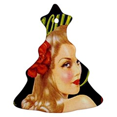 Glamour Girl  Christmas Tree Ornament (two Sides) by StarvinArtisan