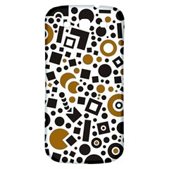 Black Versus Brown Samsung Galaxy S3 S Iii Classic Hardshell Back Case