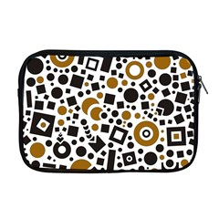 Black Versus Brown Apple Macbook Pro 17  Zipper Case