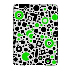 Black Versus Green Ipad Air 2 Hardshell Cases