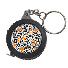 Black Versus Orange Measuring Tape