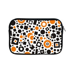 Black Versus Orange Apple Ipad Mini Zipper Cases