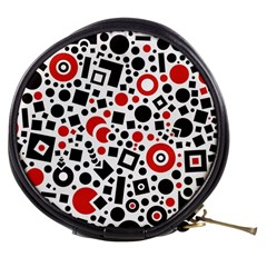 Black Versus Red Mini Makeup Bag by TimelessFashion