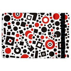 Black Versus Red Ipad Air 2 Flip by FEMCreations