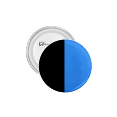 Black Blue 1 75  Buttons