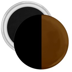 Black Brown 3  Magnets