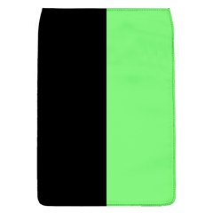 Black Green Removable Flap Cover (l)