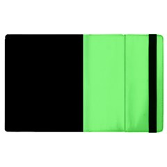 Black Green Apple Ipad Pro 9 7   Flip Case by TimelessDesigns