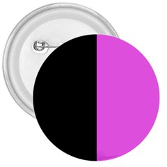Black Pink 3  Buttons by TimelessDesigns