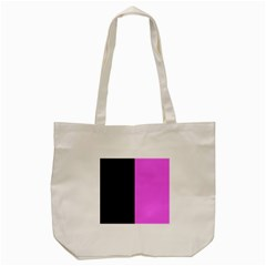 Black Pink Tote Bag (cream) by TimelessFashion