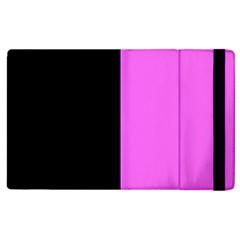 Black Pink Apple Ipad 2 Flip Case by FEMCreations