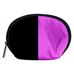 Black Pink Accessory Pouch (medium)