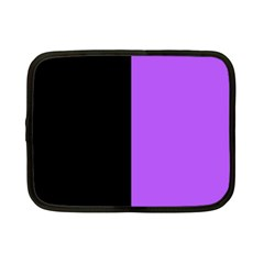 Black Purple Netbook Case (small) by TimelessDesigns