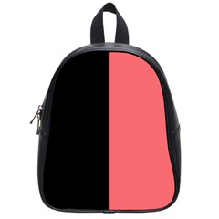 Black Red School Bag (small)