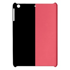 Black Red Apple Ipad Mini Hardshell Case