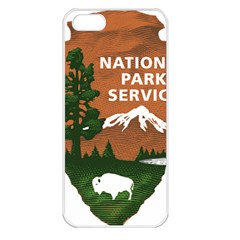 U S  National Park Service Arrowhead Insignia Apple Iphone 5 Seamless Case (white) by abbeyz71