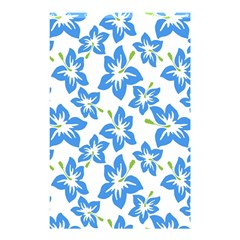 Blue Blossom Shower Curtain 48  X 72  (small)